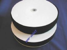 "ADHESIVE HOOK AND LOOP 50mm 2"" STICKY TAPE Black"